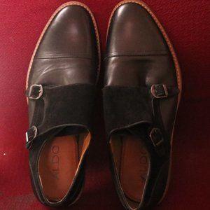 Aldo Men's Colza Monk Strap Flat  Shoes #112